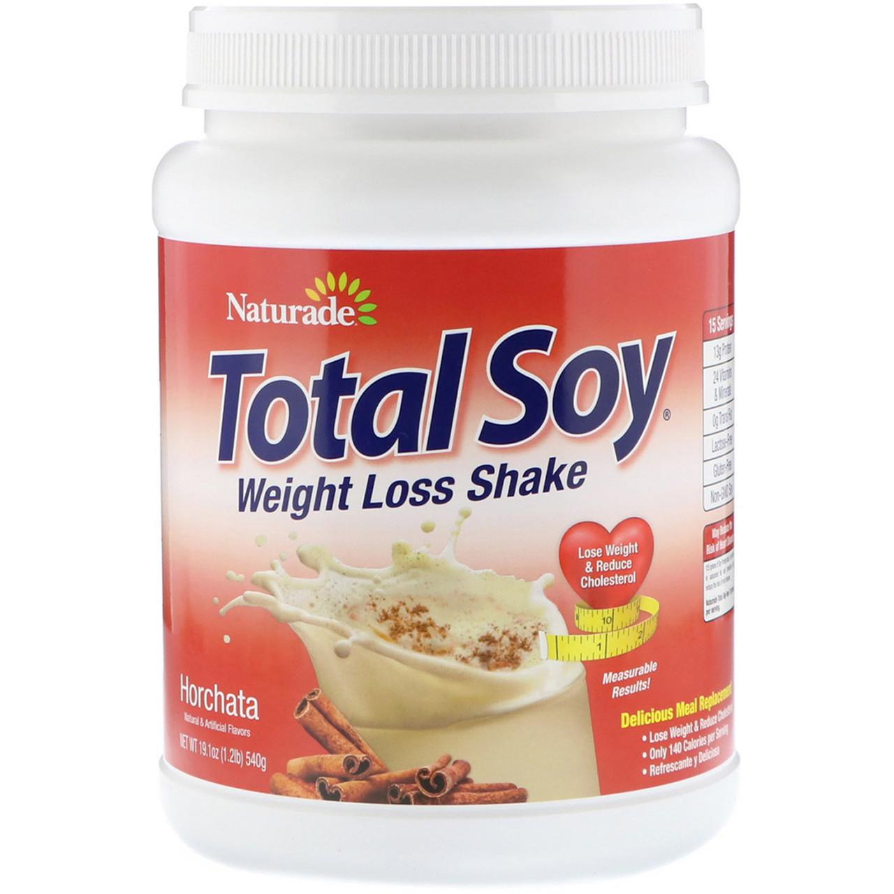 Заменитель питания, Total Soy, Naturade, вкус корицы, 540 г.