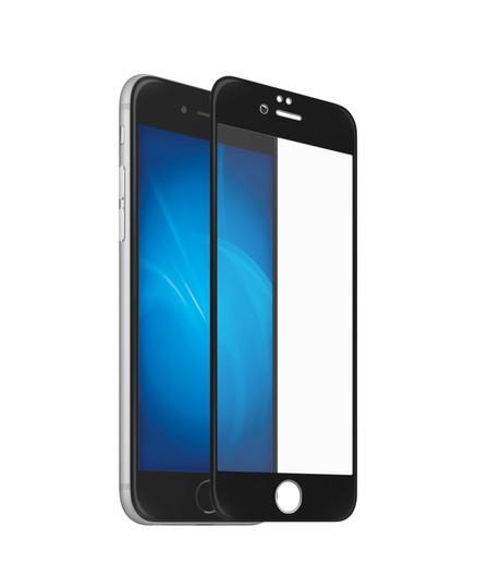 Защитное 5D cтекло Nano Flexible GLASS ITOP для Apple iPhone 6/6s Full Cover Черный