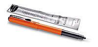 Кисть Ручка-кисть для каллиграфии Pocket Brush Pen (+4 картриджа) Pentel GFKPF-А оранжевая (GFKPF-А(оранжевая)