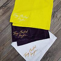 Махровое фирменное полотенце для лица, 100% хлопок