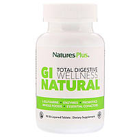 Nature's Plus, Ідеальне травлення, GI Natural, 90 двошарових таблеток