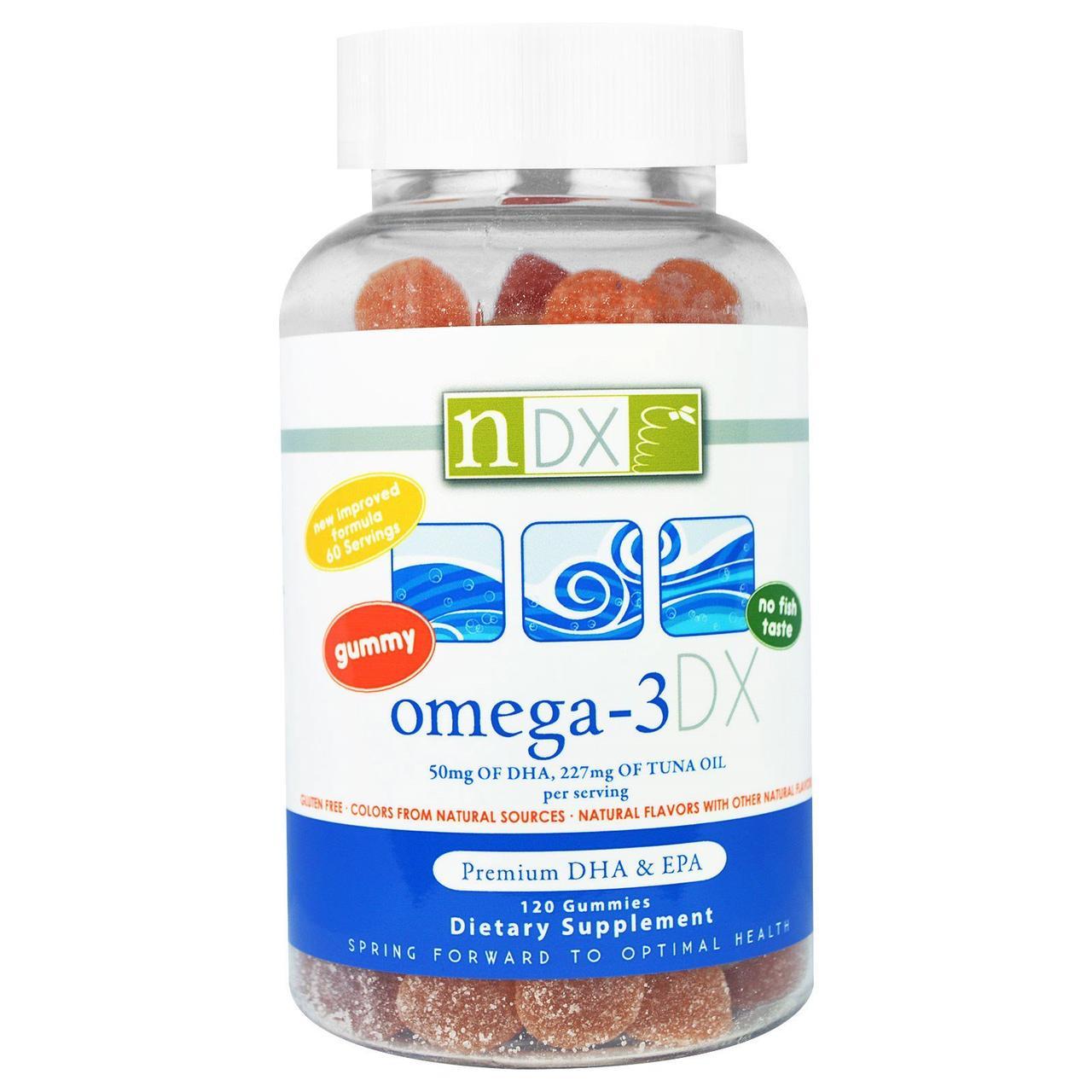 Омега-3 DX для детей, Omega-3 DX, Natural Dynamix, 120 штук