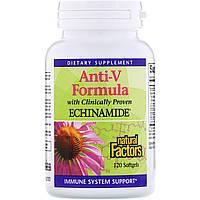 Эхинацея (формула), Natural Factors, 120 капсул