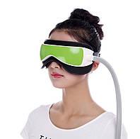 Багатофункціональний масажер для очей з прогріванням, компресией,музикою HQ-365, фото 1