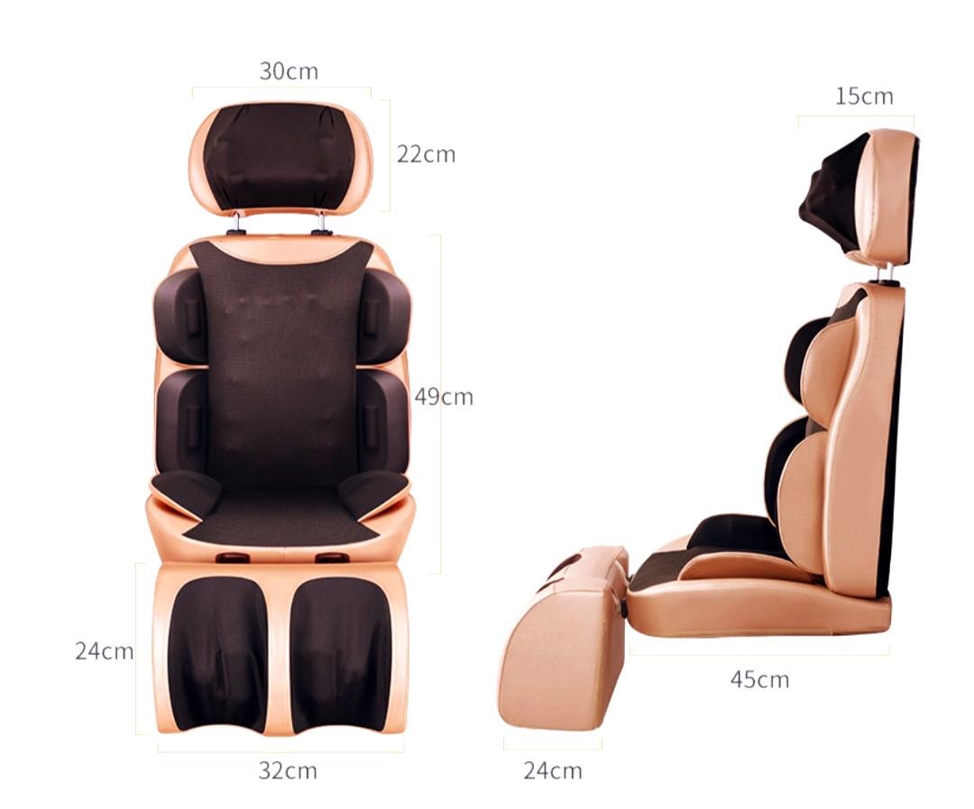 Масажна накидка-крісло з підігрівом, масажер для всього тіла 122-А