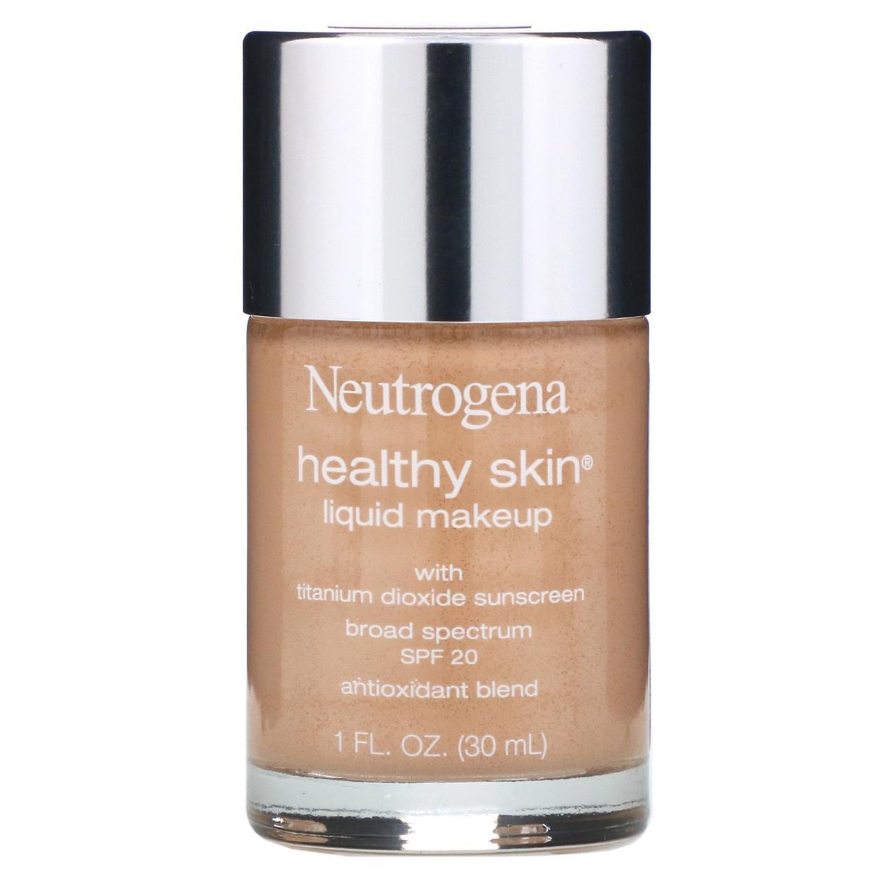 Neutrogena, Здорова шкіра, рідкий макіяж, класичний колір слонової кістки 10, 1 рідка унція (30 мл)