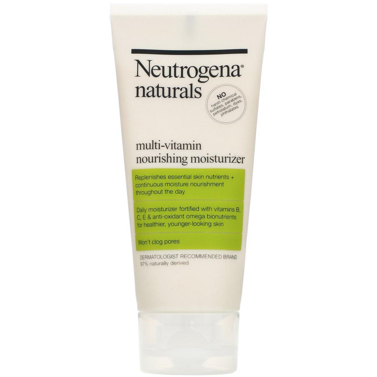 Neutrogena, Мультивитаминное питательное увлажняющее средство, 3 жидкие унции (88 мл)