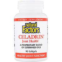 Целадрин, Здоров'я суглобів, Celadrin, Natural Factors, 90 кап.