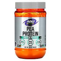 Гороховый протеин,  Pea Protein, Now Foods, 340 гр