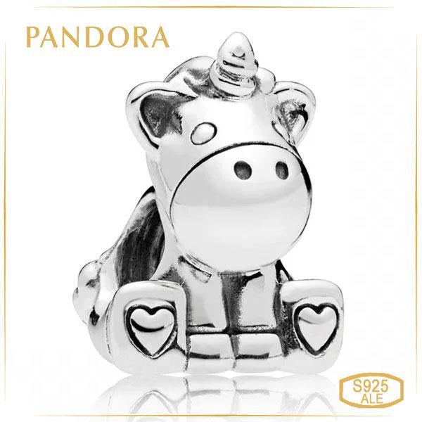 Пандора Шарм Единорог Бруно Pandora 797609