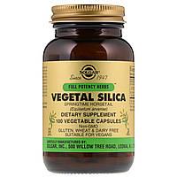 Solgar, Растительный Кремний для вегетарианцев, 100 капсул
