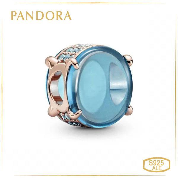 Пандора Шарм Синій овальний кабошон Pandora 789309C01