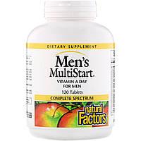 Вітаміни для чоловіків, Natural Factors,120 таблеток