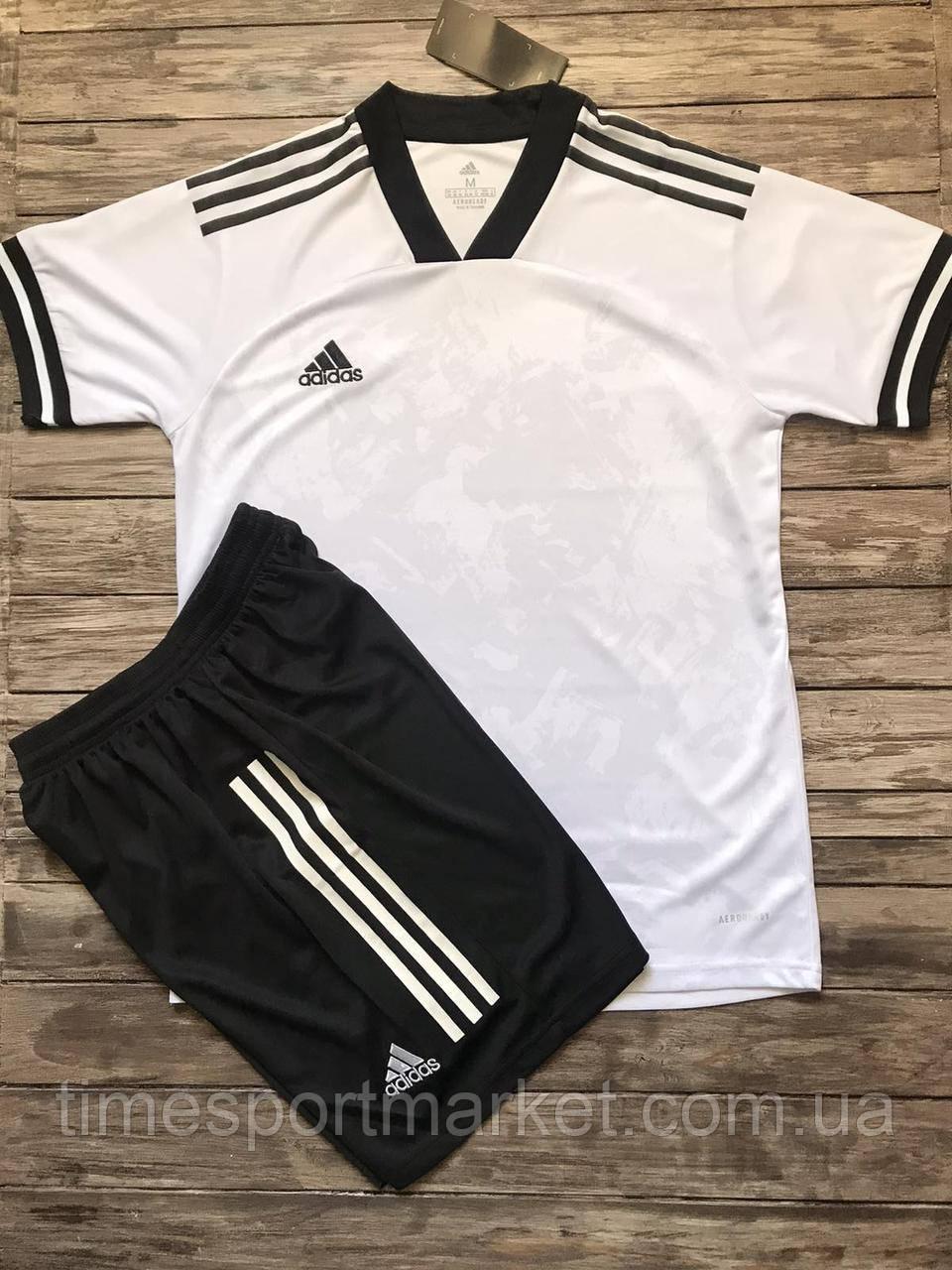 Футбольная форма для команд ADIDAS белый (Реплика)