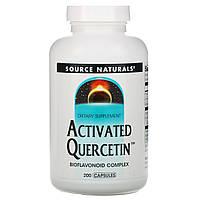 Кверцетин (Activated Quercetin), Source Naturals, 200 капсул