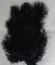Перья декоративное черный (5-8см) 100 шт