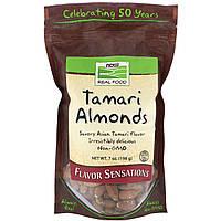 Миндальные орехи (cоус Тамари), Now Foods, 198