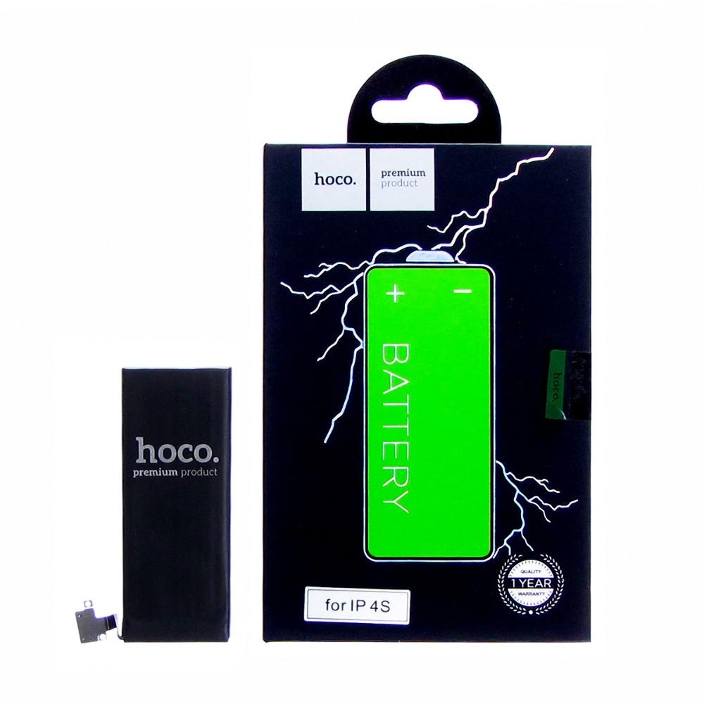 Акумулятор Hoco для Apple iPhone 4s 1430 mAh Чорний (19725)