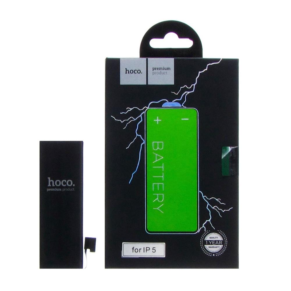 Акумулятор Hoco для Apple iPhone 5 1440 mAh Чорний (18448)