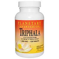 Трифала (Ayurvedics Triphala), Planetary Herbals, 1000 мг, 120 таблеток