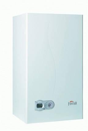 Газовый котел Ferroli DOMItech F24 кВт закрытая камера сгорания (турбо) Черкассы, фото 2