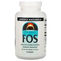 Фруктоолігосахариди (FOS), Source Naturals, (200г)