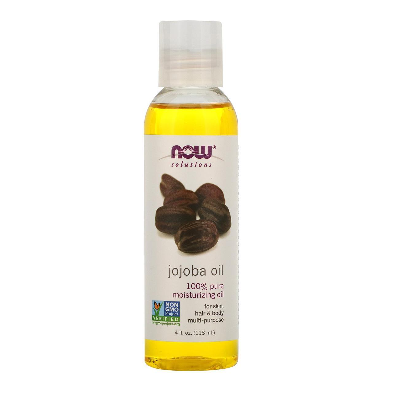 Масло жожоба (Jojoba Oil), Now Foods, 118 мл