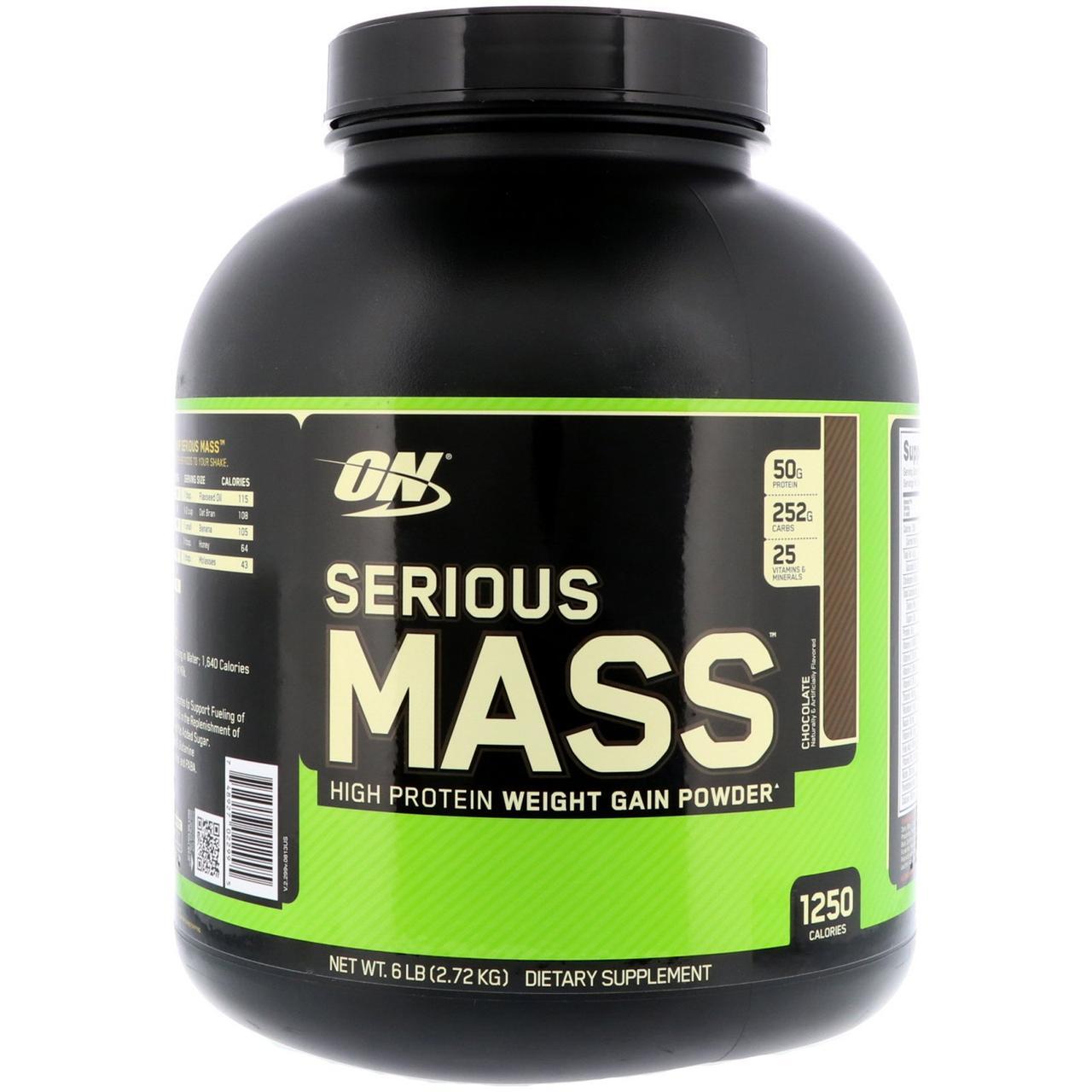 Гейнер (Serious Mass ), Optimum Nutrition, 2.72 кг