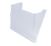 Лоток настенный прозрачный 80702 Arnika (80702 x 27258)