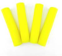 Бігуді поролон 4 MAXI жовті (папільотку)