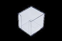 Бокс для бумаги Бокс для бумаги 90х90х90 мм прозрачный Arnika 83032 (83032(прозрачный) x 27236), фото 1