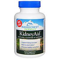 Помощь почкам, Kidney Aid, Ridge Crest Herbals, 60 капсул