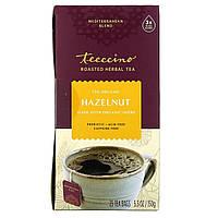 Травяной кофе без кофеина, вкус фундук, Herbal Coffee, Teeccino, 25 пакетов, 150 г