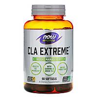 Кон'юговані лінолева кислота, CLA Extreme, Now Foods, Sports 90 капсул