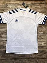 Футбольная форма для команд ADIDAS белый/синий (Реплика), фото 2