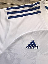 Футбольная форма для команд ADIDAS белый/синий (Реплика), фото 3