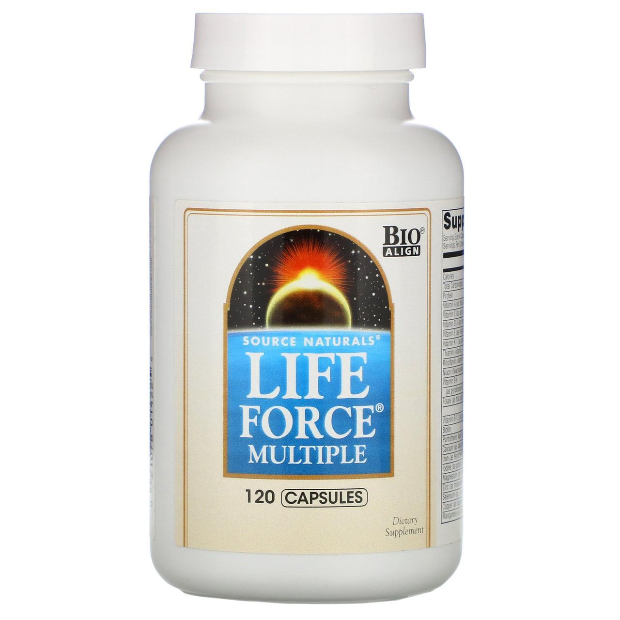Мультивитамины, Source Naturals, 120 капсул