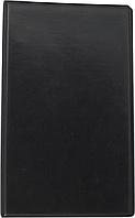 Визитница на кольцах на 200 визиток BuroMax 268 х 160 мм винил BM.3561 (BM.3561-01(черный) x 28618), фото 1