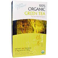 Prince of Peace, 100% органический зеленый чай, 100 чайных пакетиков по 1,8 г каждый