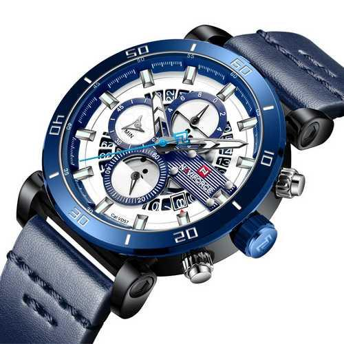 Naviforce NF9131 Blue-White