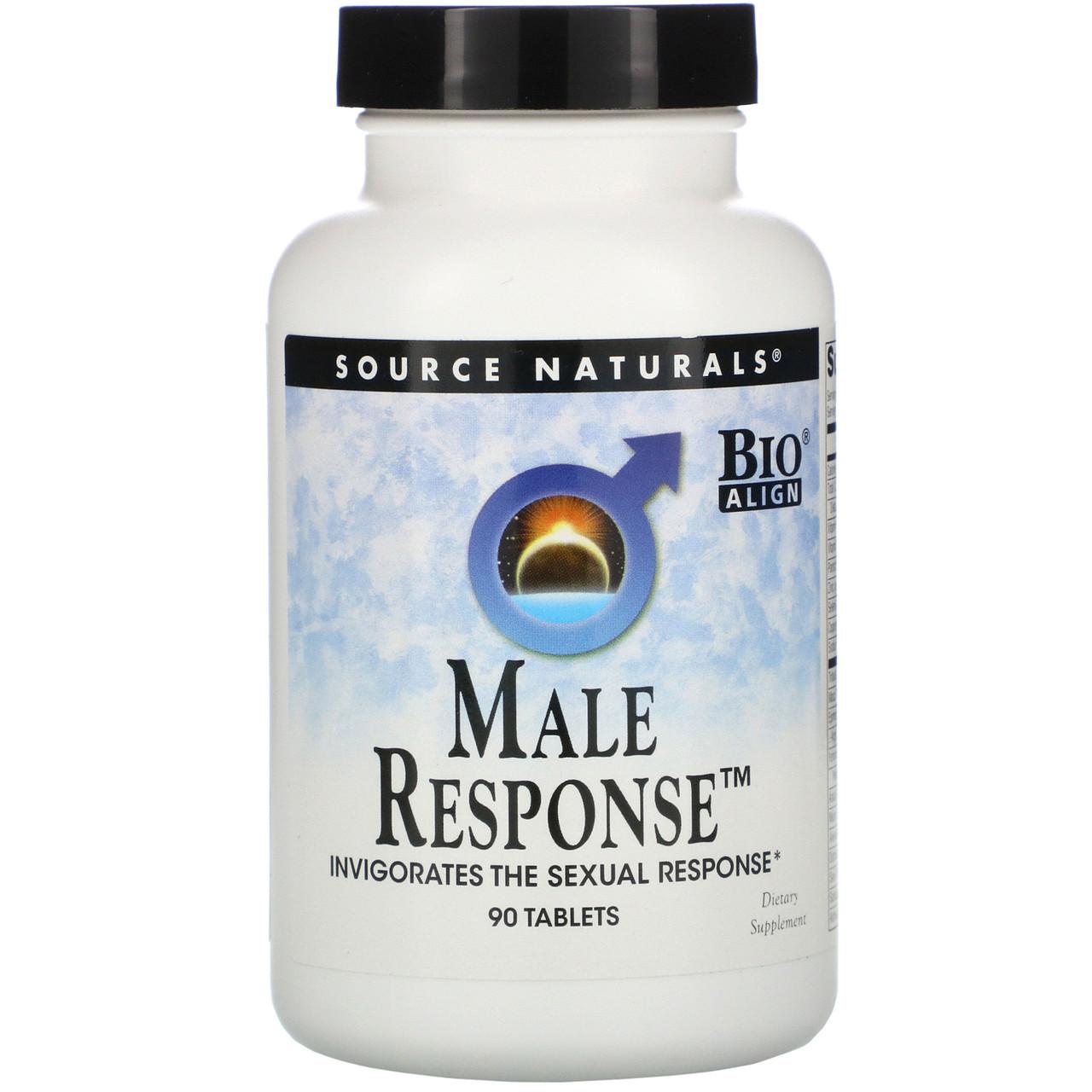 Чоловічий комплекс, Male Response, Source Naturals, 90 таблеток