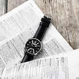 Годинник чоловічий Curren 8379 Silver-Black, фото 3