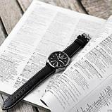 Годинник чоловічий Curren 8379 Silver-Black, фото 5