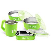 Набор для кормления зеленого цвета, Think, 1 набор