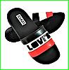 Шлёпанцы Тапочки LEVIS Сланцы Ливайс Чёрные Мужские (размеры: 41,42,44,45,46)