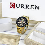 Curren 8336 Gold-Black, фото 3