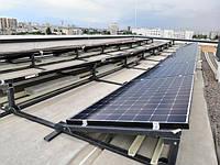 Стеклопластиковый профиль для крепления солнечных панелей. Столы для солнечных панелей.