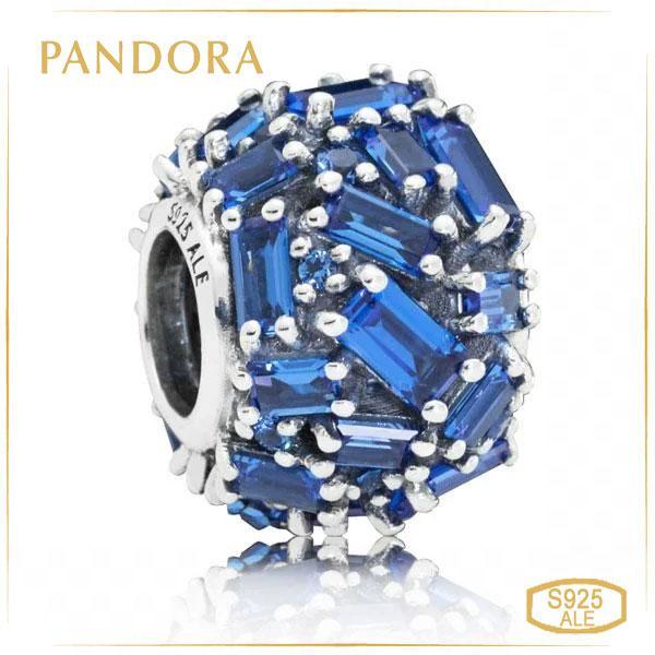 Пандора Шарм Изысканная элегантность синий Pandora 797746NSBL