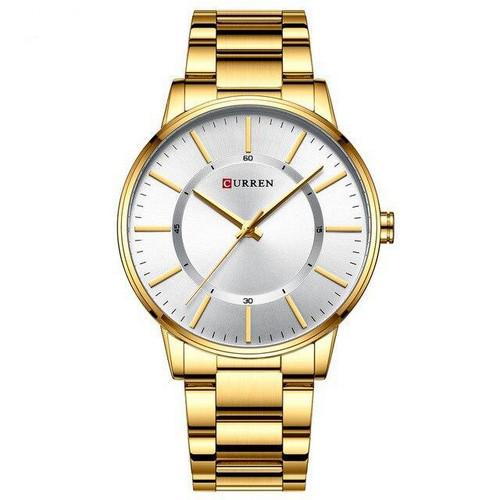 Curren 8385 Gold-White