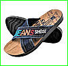 Мужские Шлёпанцы Джинсовые Тапочки Сланцы (размеры: 40,41,42)